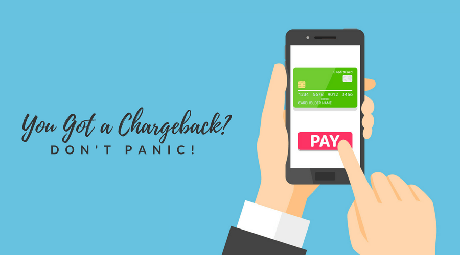 you got a chargeback? don't panic illustration