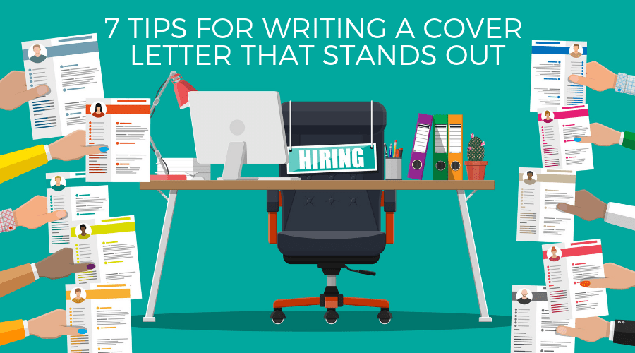 cover letter tips graphic